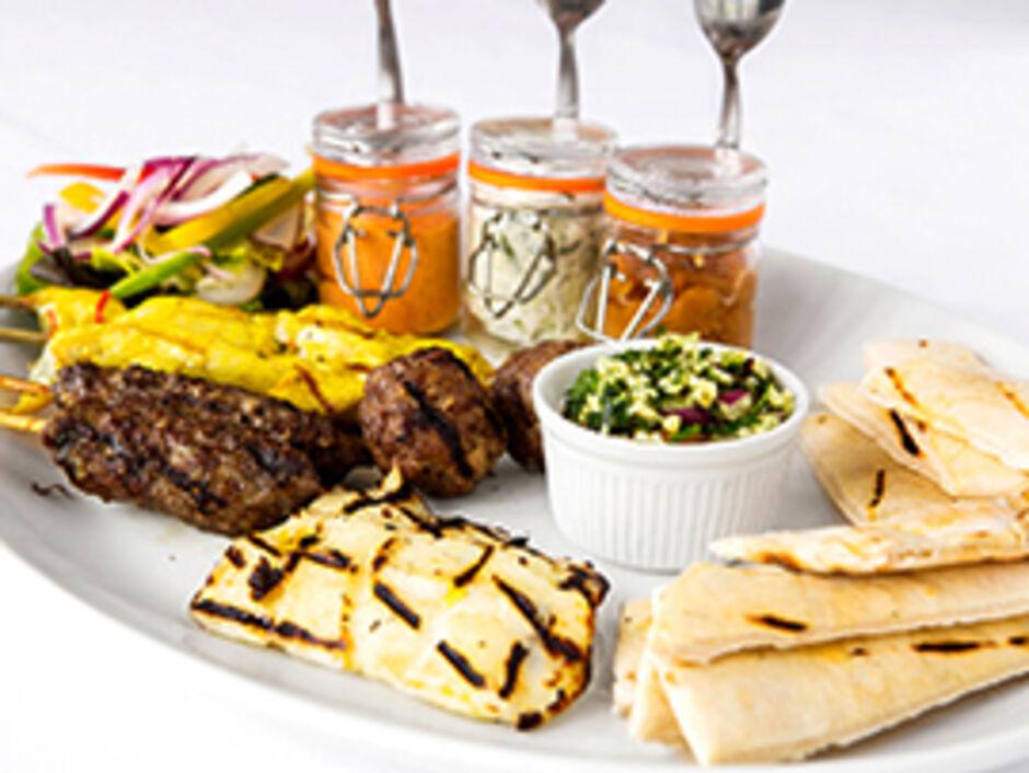 Hot Mediterranean Platter